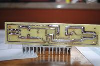 Regulowany impulsowy stabilizator napi�cia z LM2576 - z�e dzia�anie