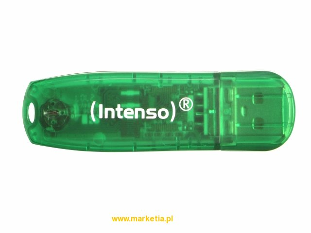 Pendrive Intenso 8gb Rainbow Line Green-2_0_b
