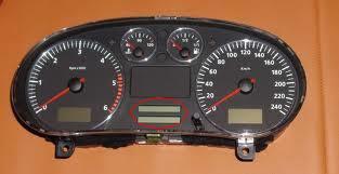 Seat Toledo II/Leon 2001 dodatkowy wyswietlacz licznika