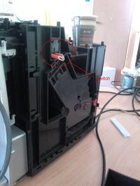 """Siemens EQ.5 Macciato TE503501 - na wyświetlaczu """"Zamknij drzwiczki"""""""