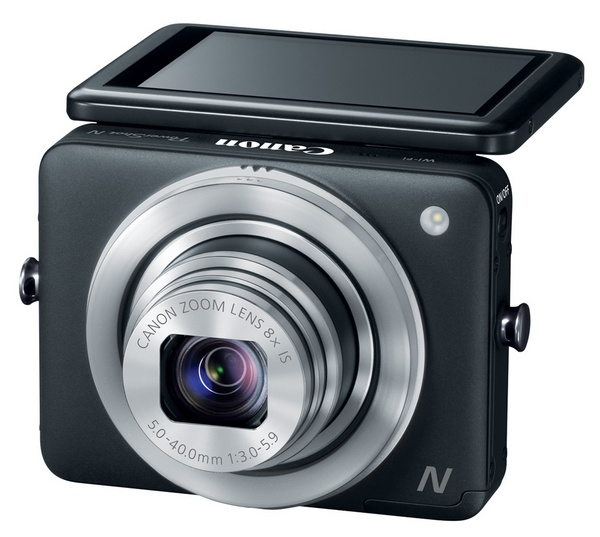Canon PowerShot N - nowy aparat cyfrowy z WiFi na CES 2013