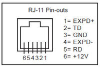 RJ11 pinout + informations | Forum for Electronics | Rj11 Wiring Pinout |  | Forum for Electronics