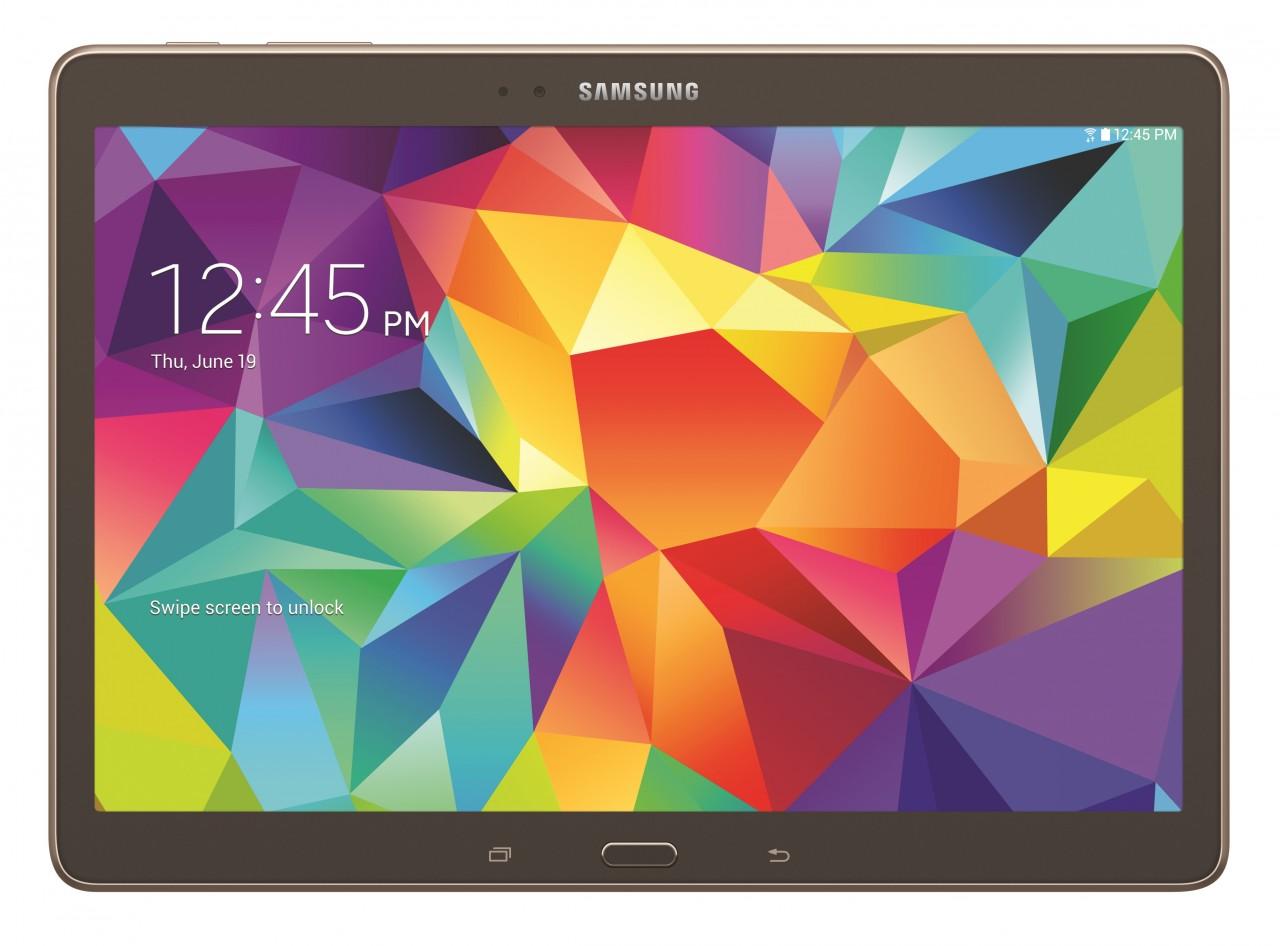 "Samsung Galaxy Tab S 10.5 - tablet z 10"" AMOLED, Exynos 5 Octa i KitKat"