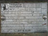 Silnik Indukta Sf 160M-6/4 - Pod��czenie