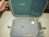 Radziecki gramofon na lampach 6N2P i 6P14P - Młodzieżowy