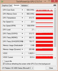 ATI Radeon HD 4870 - Czarny ekran - uszkodzona grafika?
