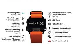 WatchX - płytka rozwojowa dla Arduino w formie... zegarka