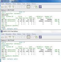 Dysk hybrydowy ST95005620AS - Odzysk partycji systemowej po naprawie Windows