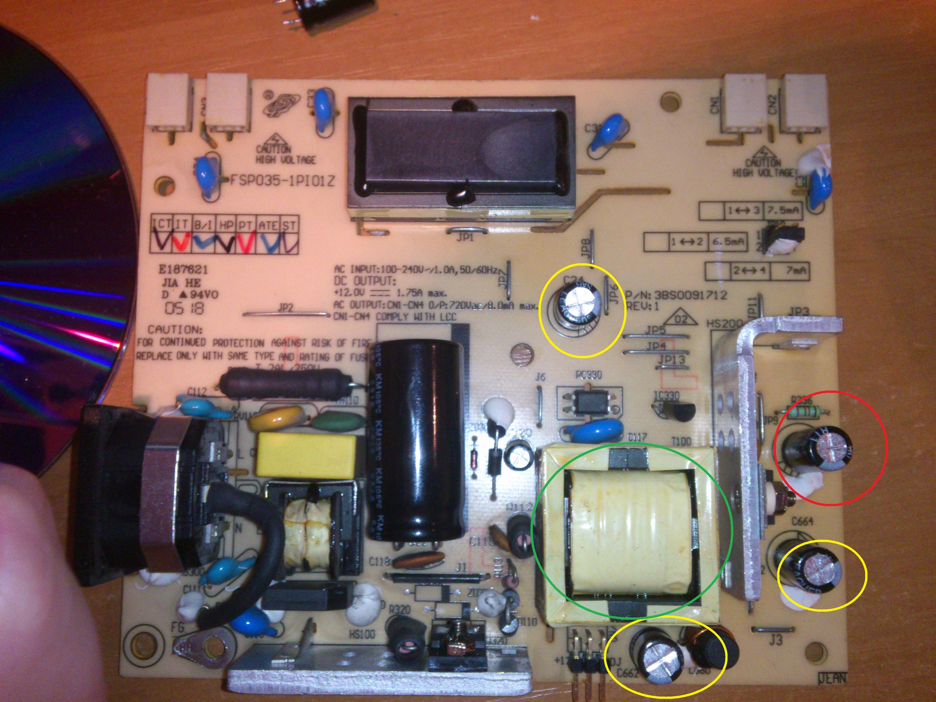 Belinea 10 19 02 - Monitor nie reaguje, nie �wieci si� nawet dioda.
