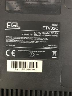 "Need a dump - EGL 32"" ETV32C - tv boot loop"