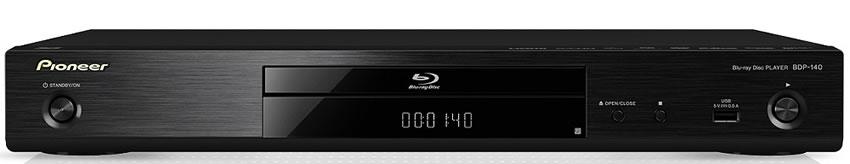 Pioneer BDP-140 - odtwarzacz sieciowy Blu-ray 3D