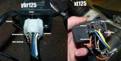 Yamaha XT 125 brak mocy, powoli wchodzi na obroty, moduł zapłonowy