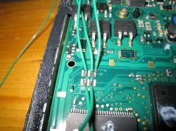 PEUGEOT 407 - SID 803 złe podłaczenie BDM - brak komunikacji ze sterownikiem.