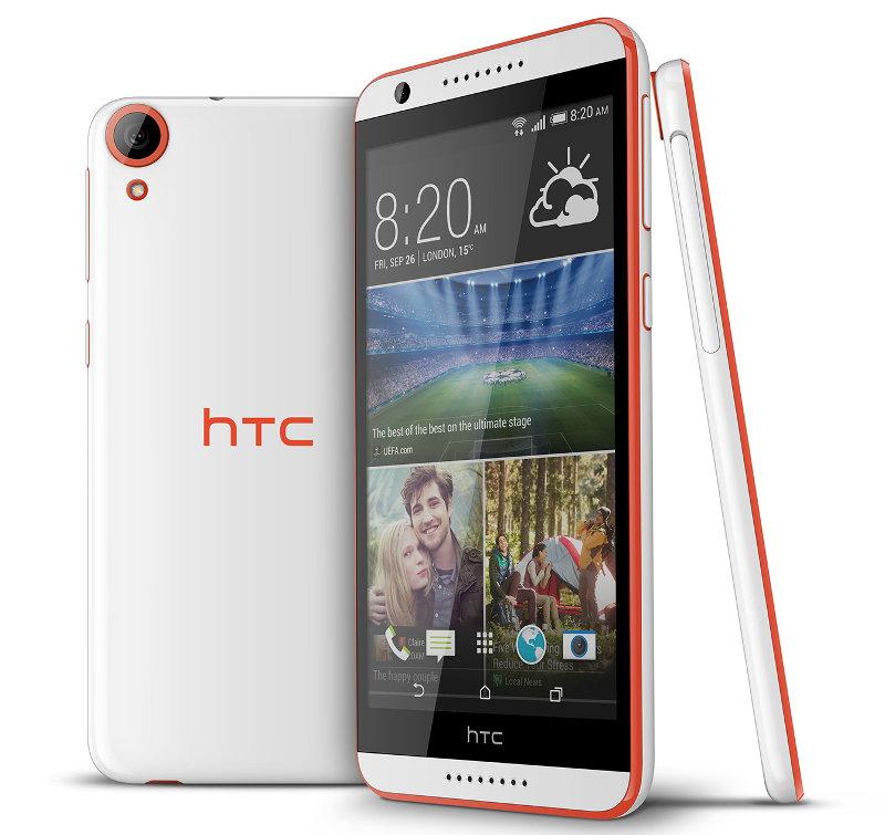 """HTC Desire 820 - phablet z 5,5"""" ekranem i 8-rdzeniowym Snapdragon 615"""
