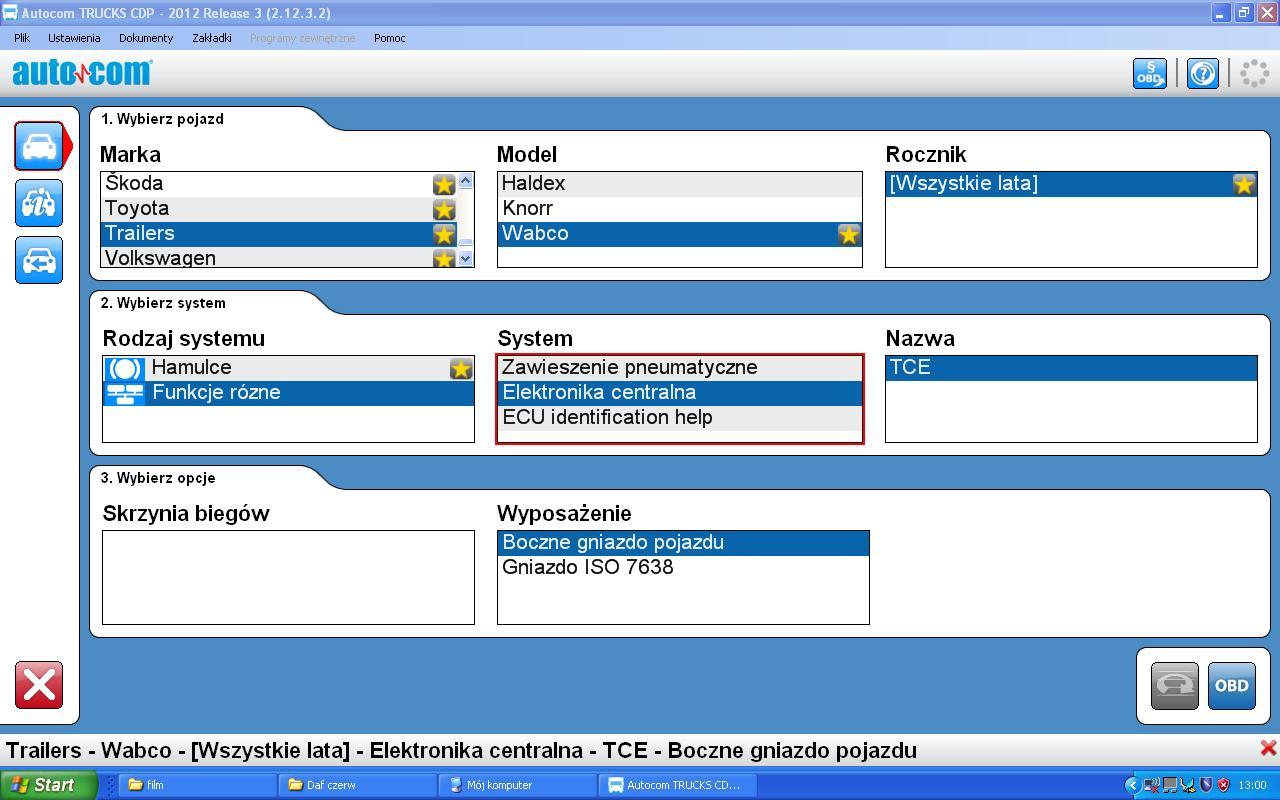 Naczepy  - Kabel ISO 7638 pod Autocoma ?