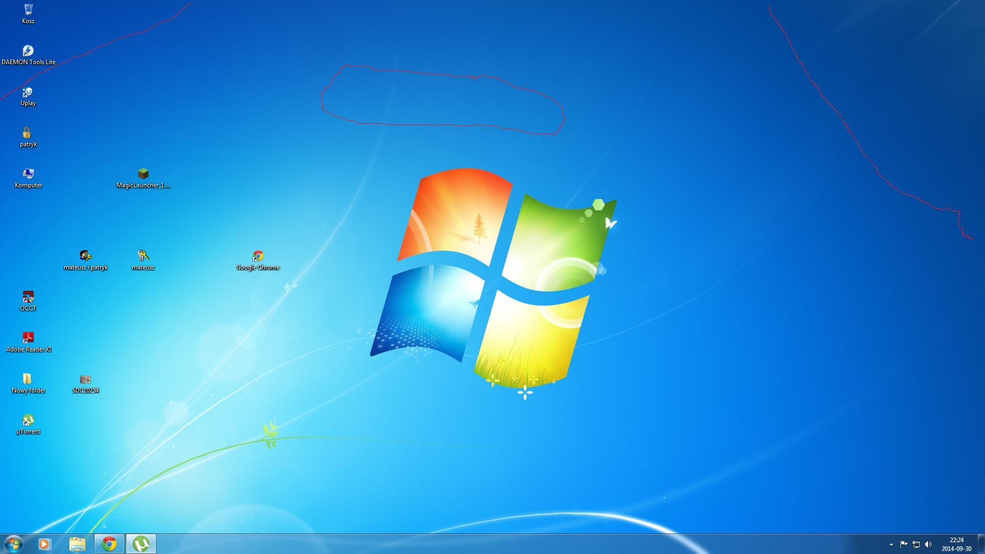 Kropki na ekranie  GeForce GTX460 SE