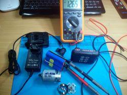 Akumulator, ładowarka, silnik 18V de facto 12V