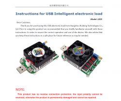Małe, proste, sztuczne obciążenie LD25; 4V-25V - made in china - Test / Recenzja