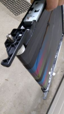 Konica Minolta bizhub C35P - najpierw tłusty później blady wydruk po transporcie