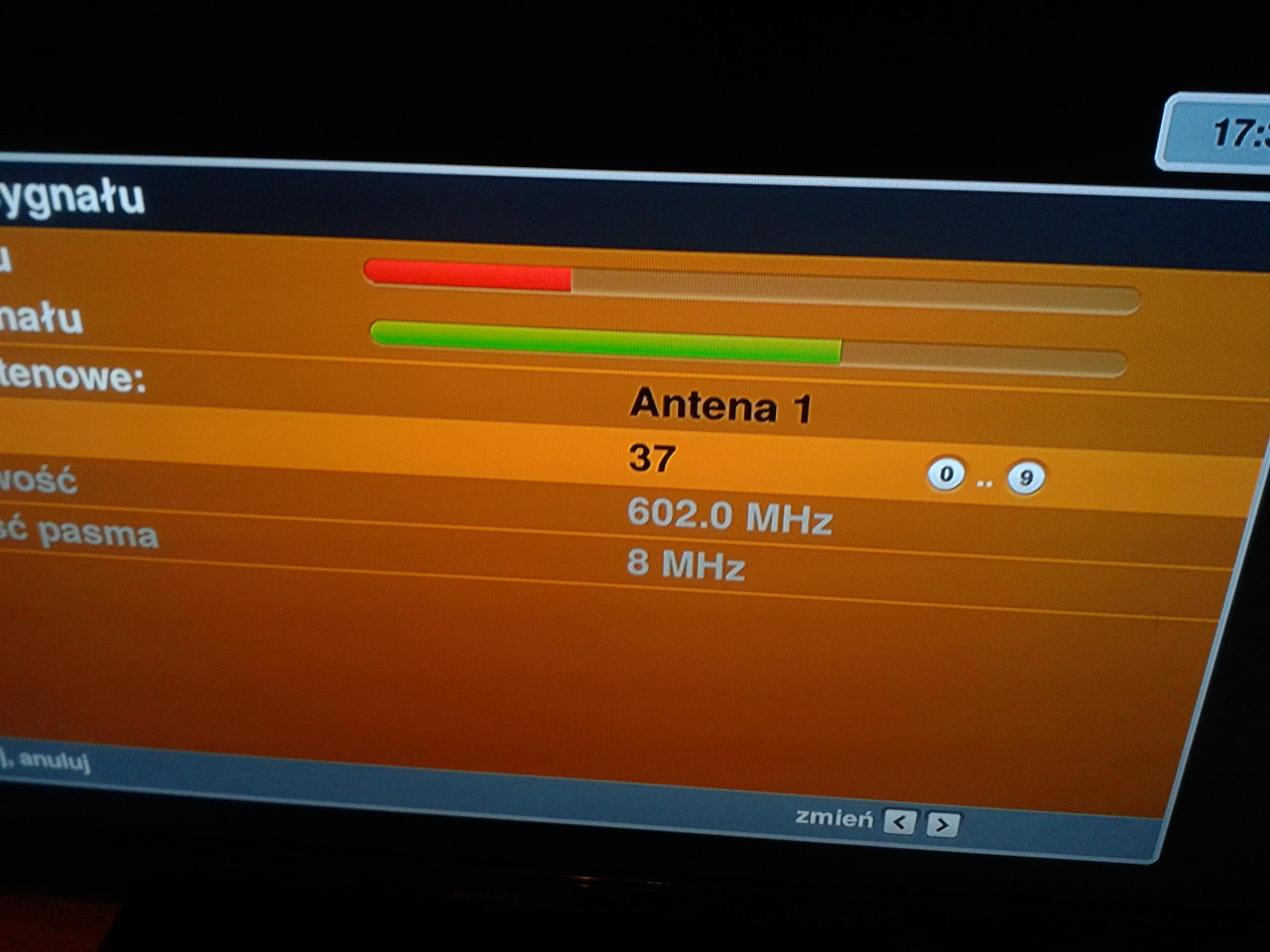 Cabletech ANT0520 - Antena pasywna + wzmacniac z