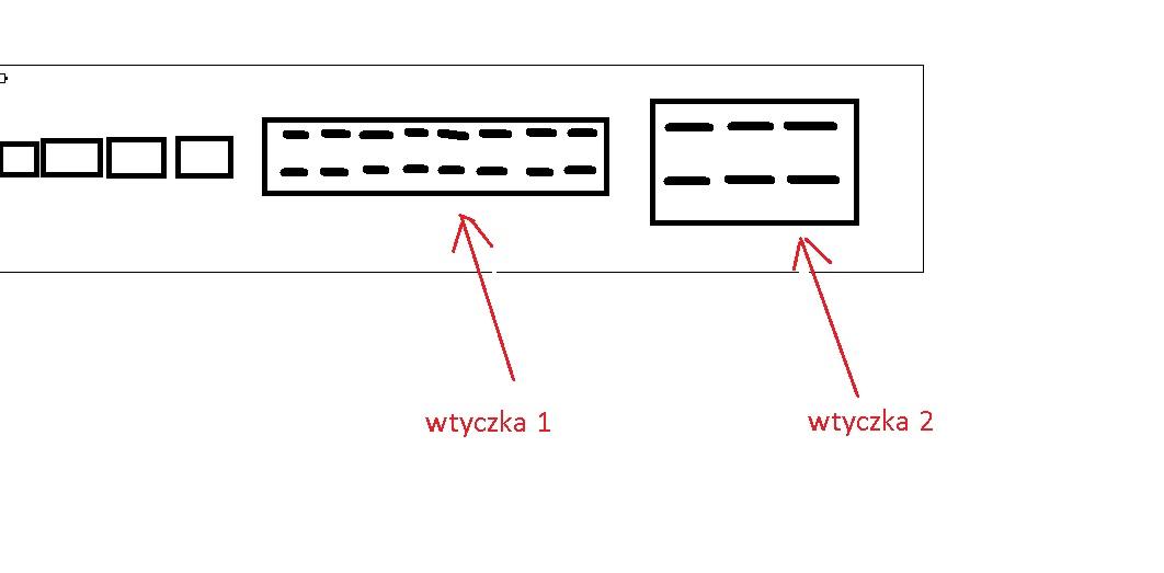 Exus v9000 - pro�ba o rozpiske kolor�w kabli