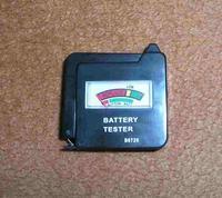 Schemat diodowego wskaźnika naładowania baterii 1,5 V AA