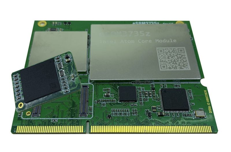 Modułowe systemy ARM/WIntel dostarczane z modułami eMMC lub/i pamięci RAM