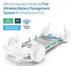 ADI prezentuje pierwszy bezprzewodowy system zarządzania akumulatorami