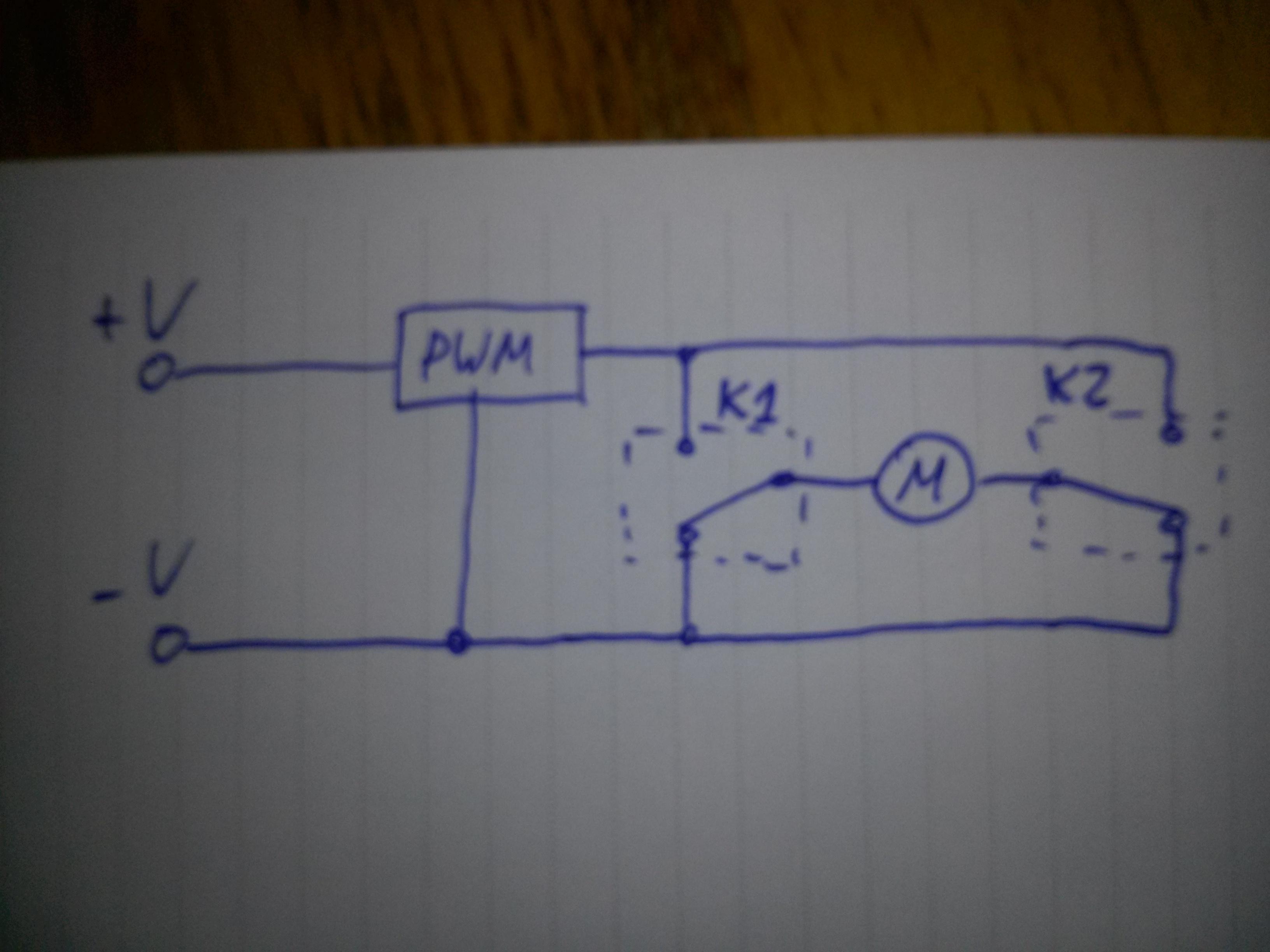 Podłączyć silnik prądu stałego