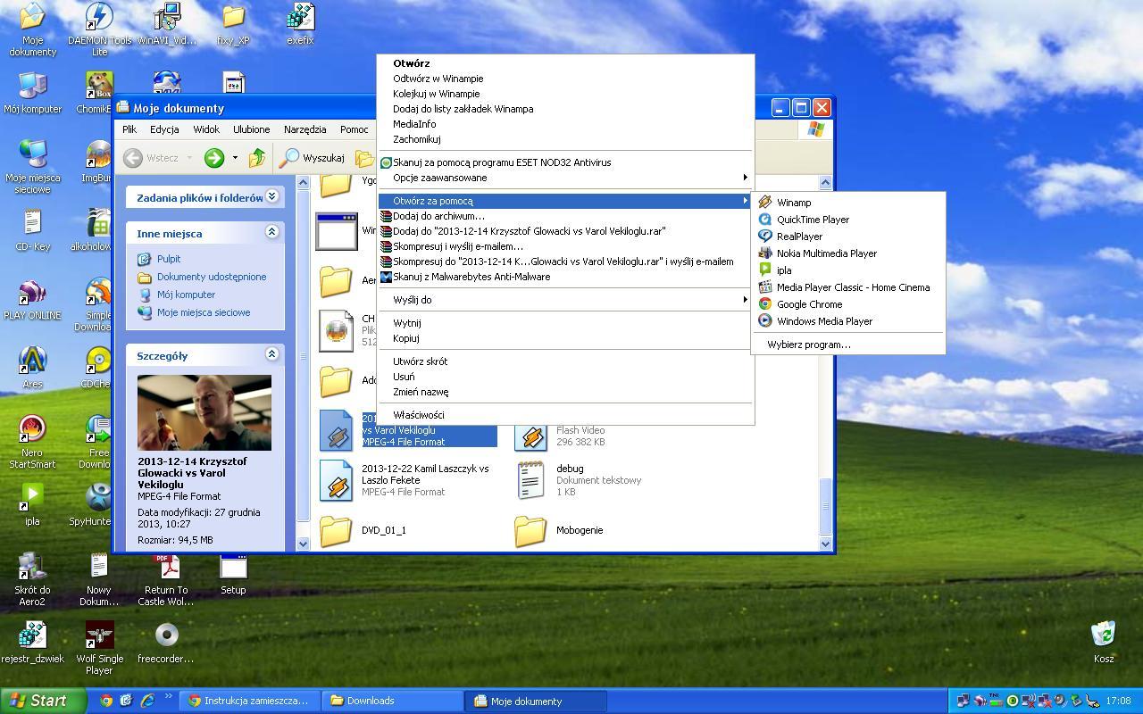 Windows XP - Problem ze skojarzeniem plik�w