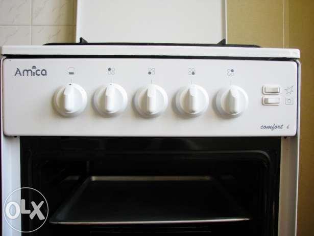 Kuchnia gazowa Amica  oznaczenia na termostacie piekarnika