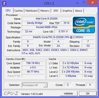 Samsung NP350E5C-A05PL - Laptop sam się wyłącza, niskie taktowanie procesora