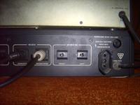PC -> stara wieża unitra -> głośniki