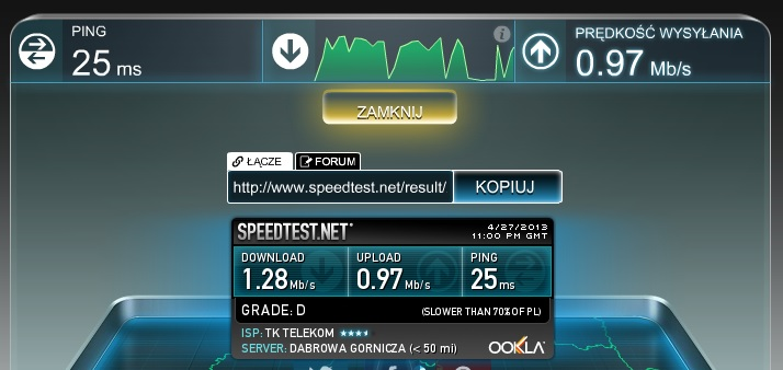 Speedtest Spb Yota Ru