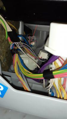 Zmywarka Bosch SPV69T30EU/07 jak wyjąć pompę spustową (odpływową)