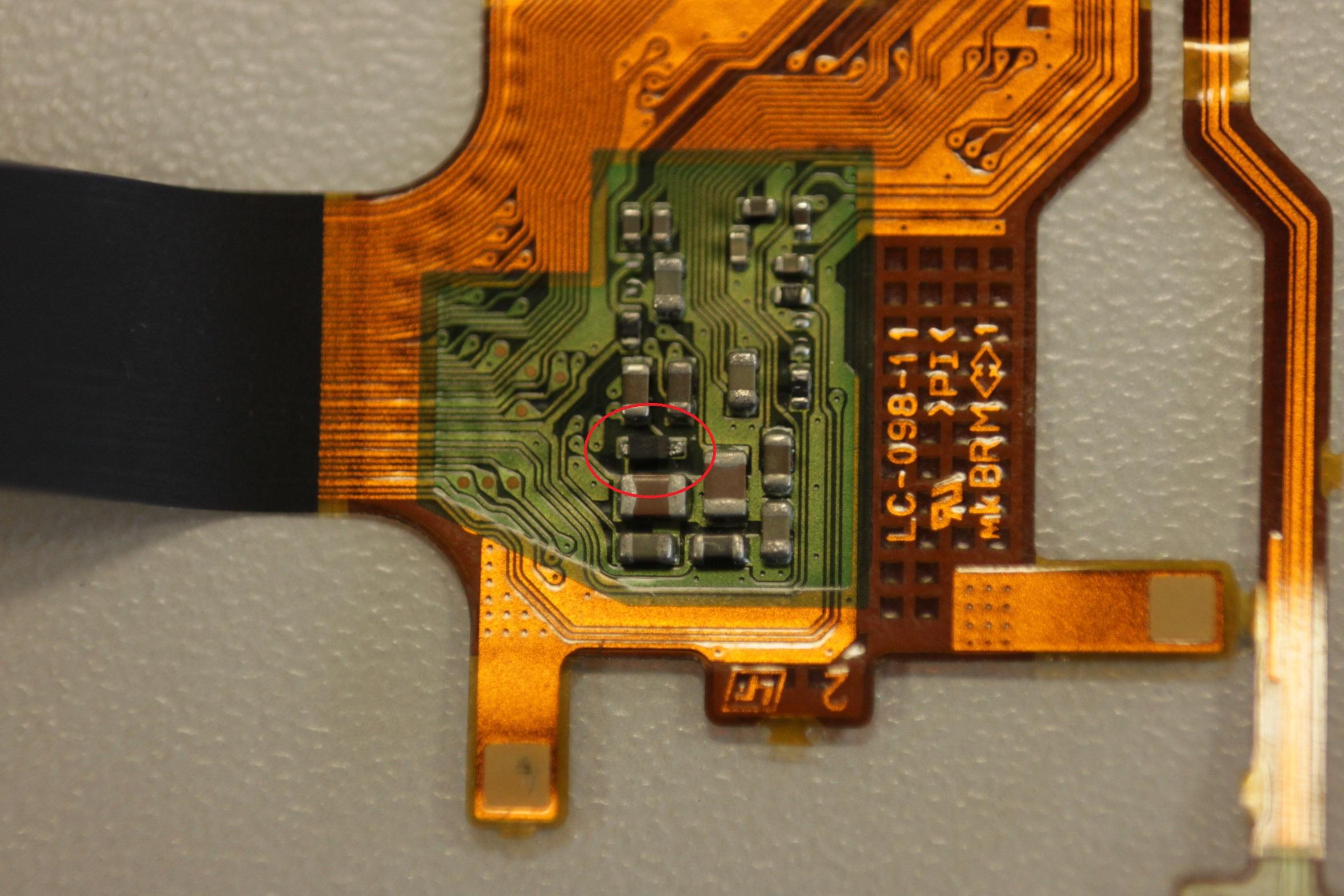 Sony Nex7 - Wyswietlacz nie dziala