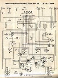 Jak podłączyć alternator i rozrusznik w skodzie 1203?