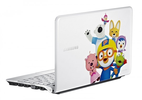 SAMSUNG NP-NC110-Pororo - komputer typu netbook dla dziecka