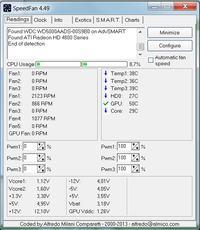 HD 4850 powercolor - Obniżenie taktowania karty graficznej