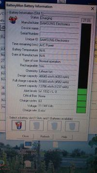 Samsung NP300E5C - Nie działa na baterii