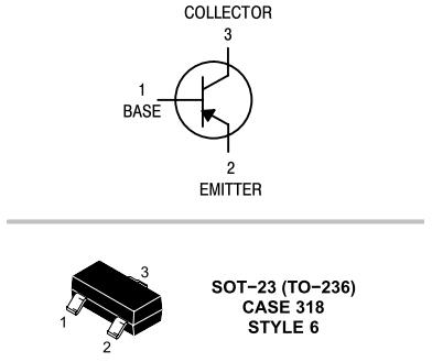 PNP w SOT23 (zamieniony kolektor z emiterem)