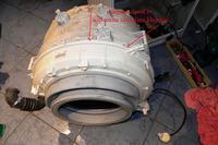 whirpool AWO/C 61010 - Wymiana łożysk w zbiorniku