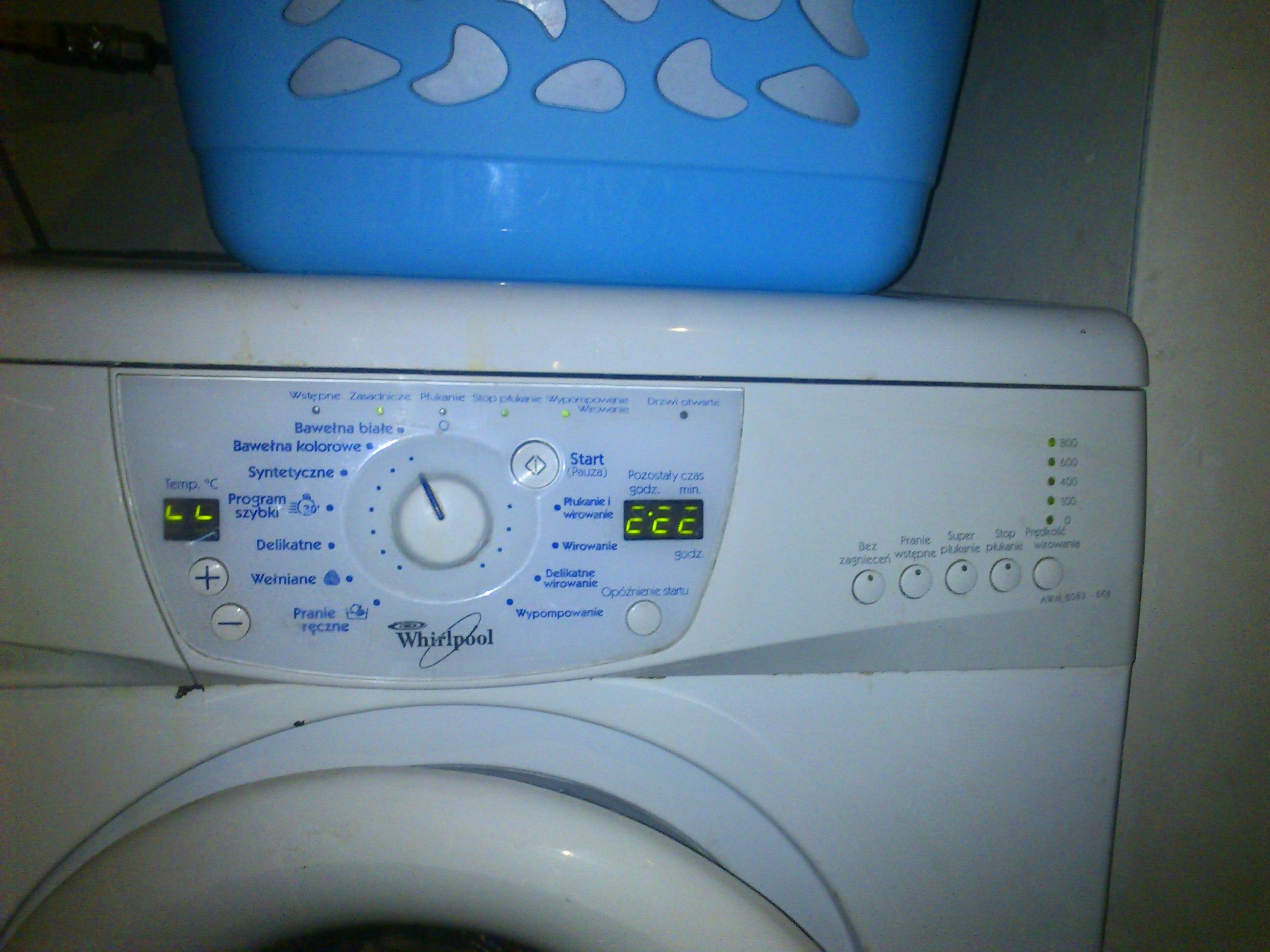 Pralka Whirlpool AWM 8083