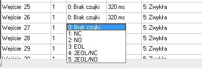 Integra 64 - Brak opcji w integrze wyboru tylu linii na wej�ciu