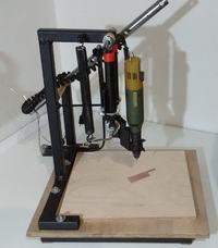 Statyw do wiercenia płytek PCB.