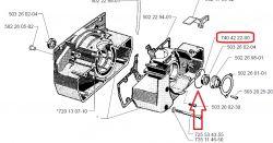Husqvarna 250R - zatarty silnik