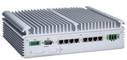 eBOX671-517-FL - komputer embedded do NVR z 8 portami PoE dla kamer IP