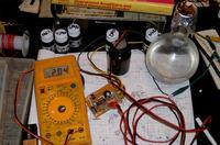 Analogowy konduktometr - miernik zasolenia wody