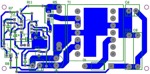 Przetwornica do ladownia kondensatorow