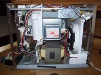 Mikrofalówka Sharp R-730A problemy po naprawie